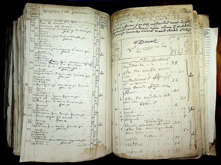 Исповедная роспись Берестовеньки за 1771 год