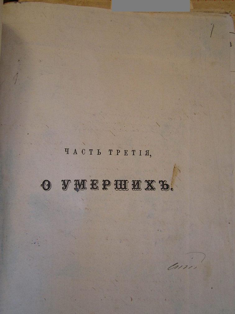 Метрическая книга Космо-Дамиановской церкви села Лозовеньки за 1873 год