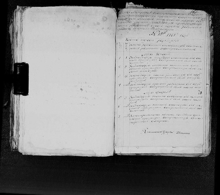 Метрическая книга Николаевской церкви села Меловая за 1787 год