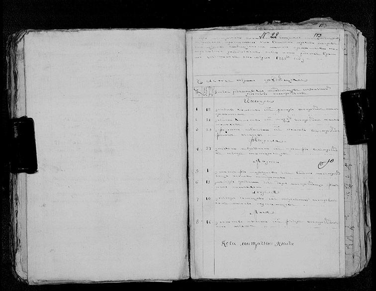 Метрическая книга Покровской церкви села Нижний Бишкин за 1785 год
