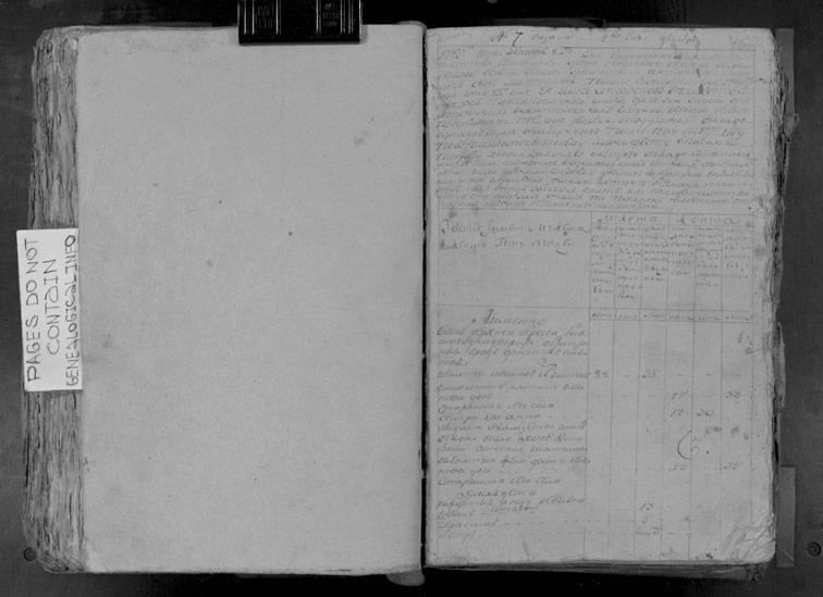 Ревизская сказка Береки 1795 год (5-я ревизия)