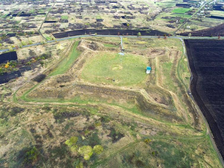Алексеевская крепость Украинской линии