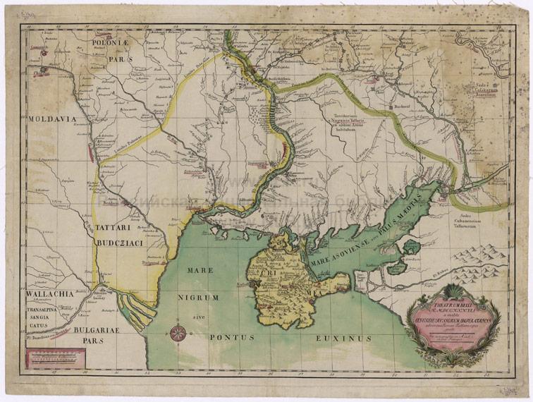 Театр военных действий августа 1737 года против турок и татар, 1738 год.
