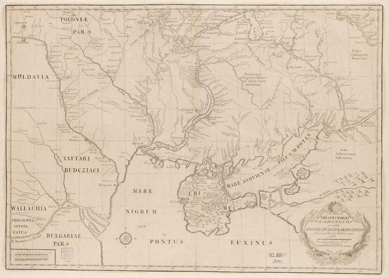 Театр военных действий августа 1737 года против Турок и Татар, 1740 год.